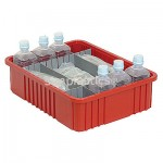 Divider Boxes with Medical Supplies