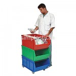 Larger Stackable Medical Storage Bins