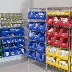 HealthCare Shelving with Bins